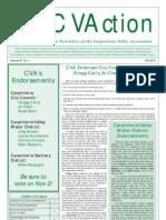 Fall 2010 CVAction Newsletter ~ Carpinteria Valley Association