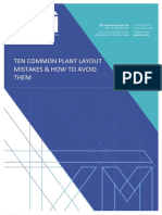 Ten Common Facility Layout Mistakes & How to Avoid Them