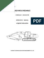 Manual de Operador - XE210CU_XE240LC