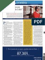 «Comerciábamos con América antes de Colón» (La Vanguardia 20.07.2001)