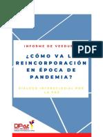 Informe de Veeduría Enero-Abril 2020