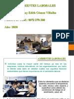AMBIENTE LABORAL CLASE 2020