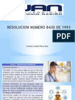 RESOLUCION NUMERO 8430 DE 1993 Trabajo.pptx