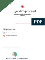 esquemas de acto juridico procesal