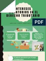 Intereses  moratorios en el derecho tributario