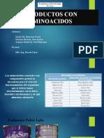 Tarea 5-Productos con AMINOACIDOS.pptx