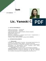 Curriculum_concurso de oposición