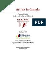 Senior Artists Full Report