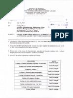 VPAA Office Memorandum Order No. 28, s. 2020