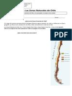Guía Introduccion a la Unidada Zonas Naturales de Chile y conceptos