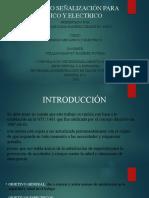 PROCEDIMIENTO SEÑALIZACIÓN PARA RIESGO MECANICO Y ELECTRICO
