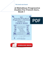 335 Selected Melodious Progressive Technical Studies For French Horn Book 1 Download Free (EPUB, PDF).pdf