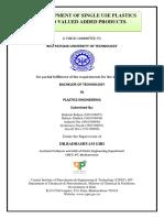 PROJECT ON SINGLE USE PLASTICS .pdf