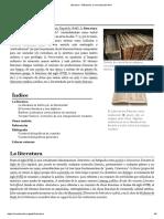 Literatura - Wikipedia, la enciclopedia libre.pdf