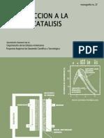 Introduccion a La Electrocatalisis