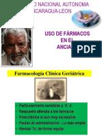 USO DE FARMACOS EN EL ANCIANO