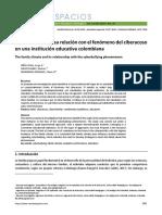 El clima familiar y su relación con el fenómeno del ciberacoso en una institución educativa colombiana