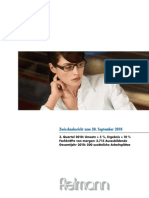 Fielmann-2010-3 Quartalsbericht