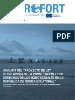 Analisis de Proyecto de Ley Sobre Prostitucion y Derechos Homosexuales