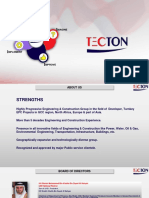 TECTON - Desalinations and WATER Technology