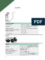 Moeller Datasheet ESR4-NV3-30