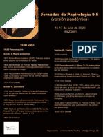 Programa Jornadas Papirología 9.5