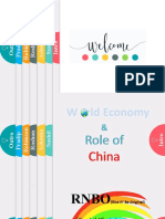 World economy and role of china