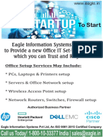 Eagle Information Systems Help Startup To Start