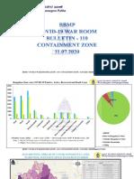 Bangalore Containment Zones