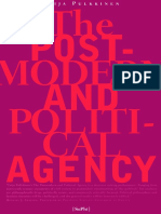 PULKKINEN-The Postmodern and Political Agency