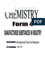 5462946 Chemistry Form 4 Chapter 9 Manufacture Substances in Industry
