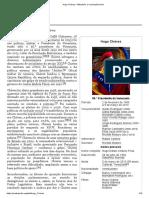 Hugo Chávez – Wikipédia, a enciclopédia livre