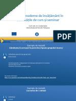 4. Curs Metode moderne de invatamant Exemple METODE.pdf