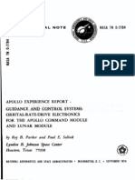 Apollo Experience Report Guidance and Control Systems Orbital-Rate Drive Electronics for the Apollo Command Module and Lunar Module