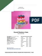 Kawaii Rainbow Cake Eng Docx
