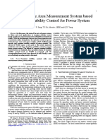 Study on wide area measurement system based transient stability control for power system