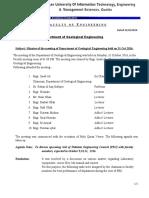Minutes of  meeting-held on 10-31-016