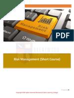 1544023917Risk Management Short Course