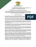 Decreto No 288 2020