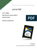 Cervoz_Industrial_SSD_ 2.5inch_PATA_M120_Datasheet_Rev2.0