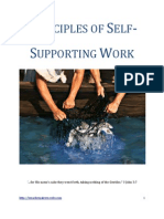 Principles of Self-Supporting Work
