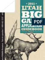 2011 Utah Big Game Guidebook