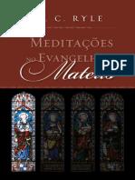 Meditações no Evangelho de Mateus - J. C. Ryle