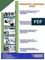 Produtos e serviços - HVAC