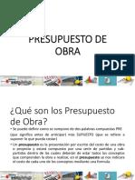 PPTJCSD 09 CTIII PRESUSPUESTOS DE OBRA