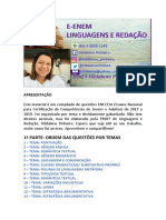 CADERNO DE ATIVIDADES ENSINO FUNDAMENTAL- LÍNGUA PORTUGUESA - 2020 QUESTÕES ENCCEJA