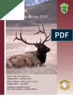 2010 Idaho Big Game Brochure