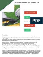 Football pour les Seniors - une Saison d'entrainement PDF - Télécharger, Lire