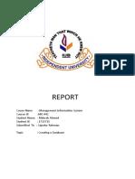 Mis 442 Report