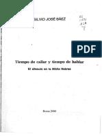Baez Silvio Jose - Tiempo De Callar Y Tiempo De Hablar.pdf